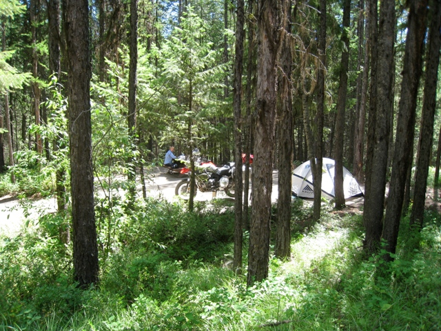 10    camping at conkle lake provincial park