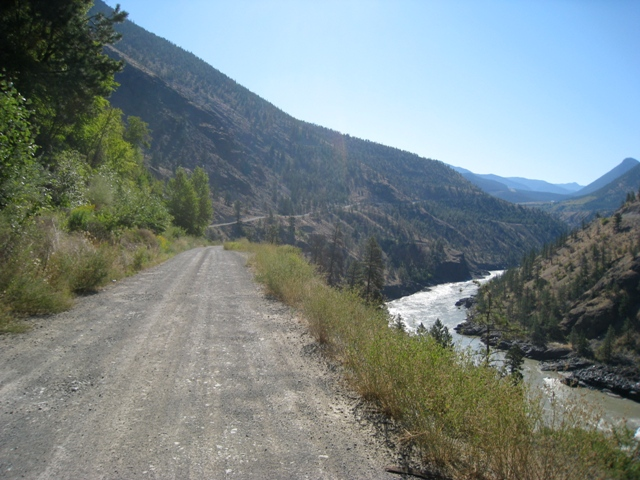 36         following the river  towards lillooet