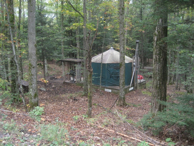 yurt silent lake campground 2 day minimum
